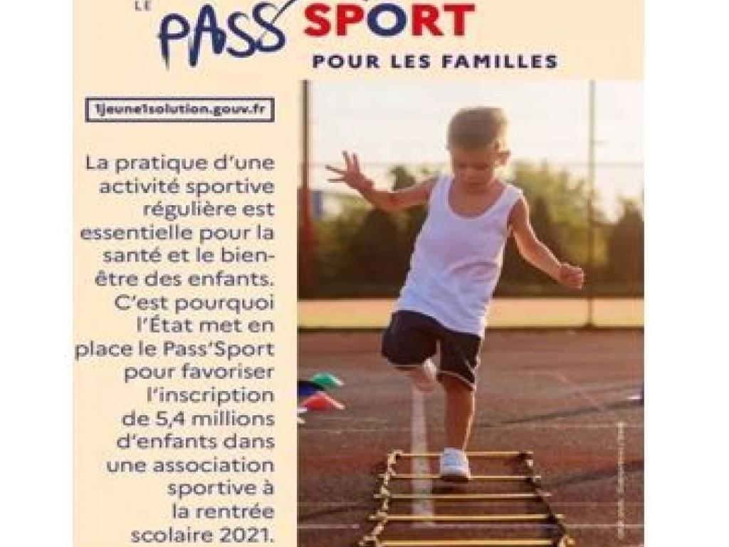 Image de l'actu 'Pass Sport 2021 ! ! !'